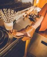 Damen Sandale A04001