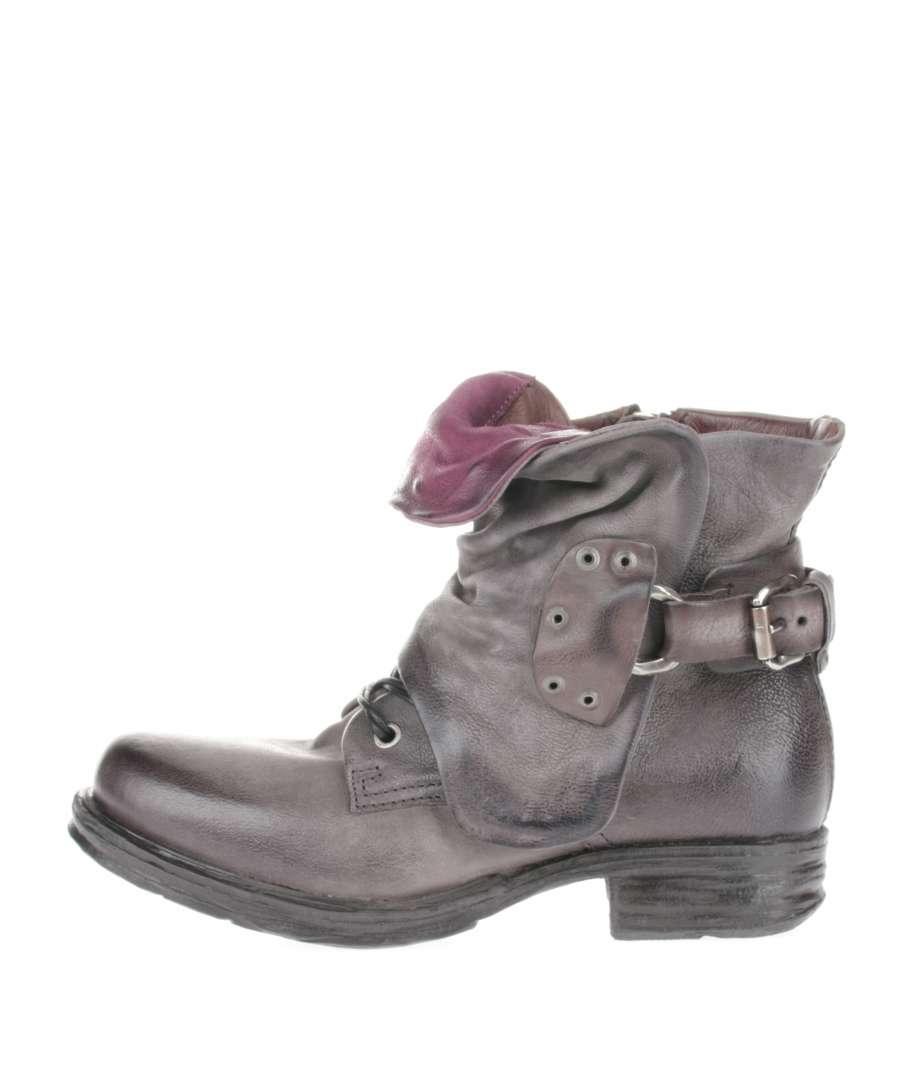 Cuffed boots nebbia