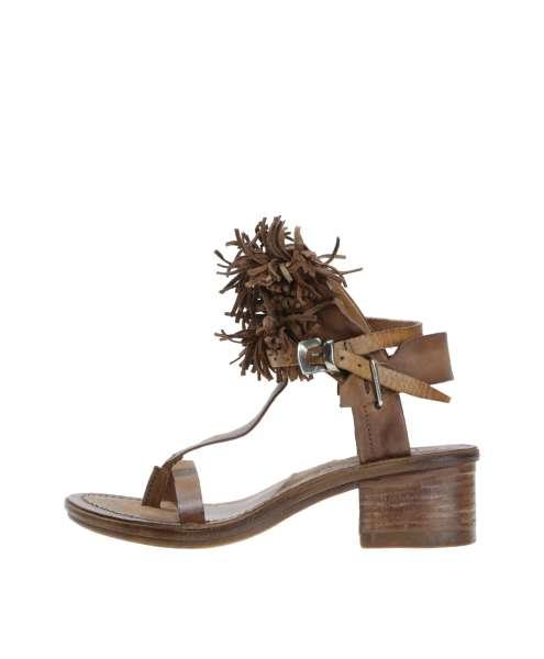 Fringe sandals calvados