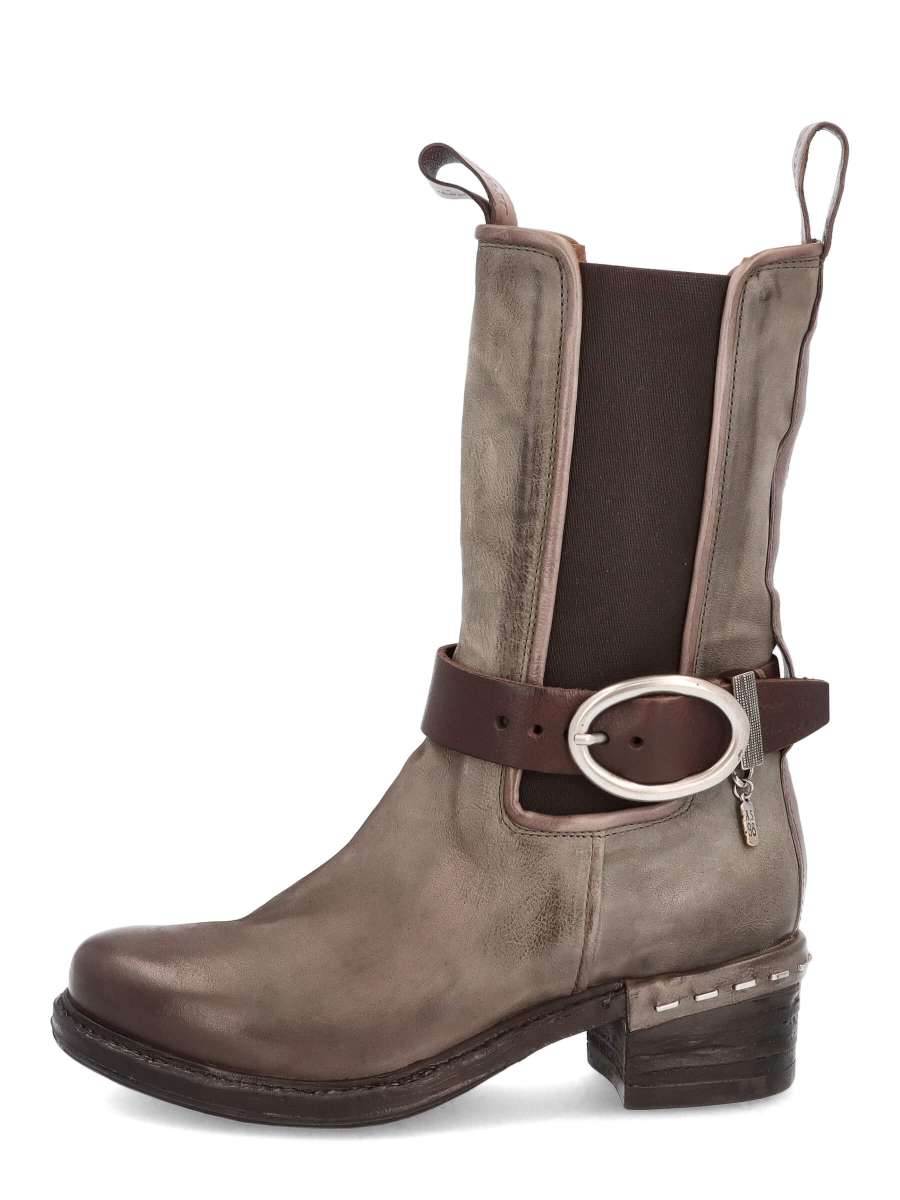 High Top Chelsea Boots cenere