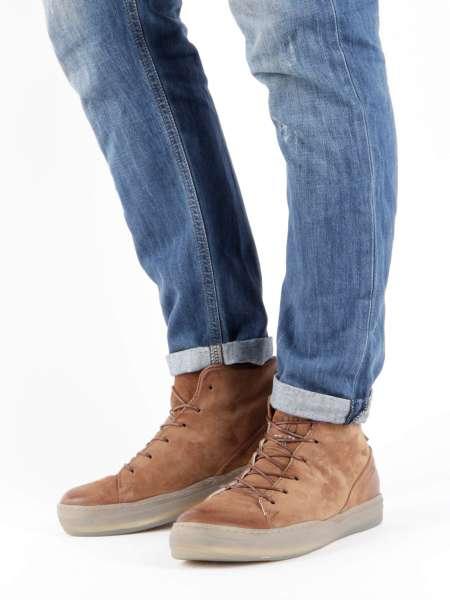 High-top Sneaker calvados