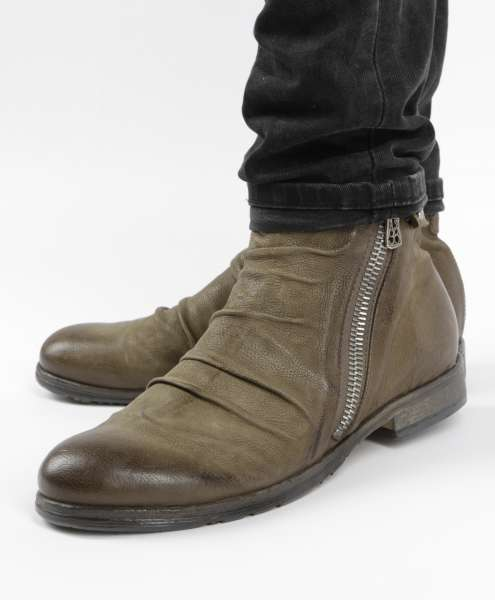 Stiefelette tabacco
