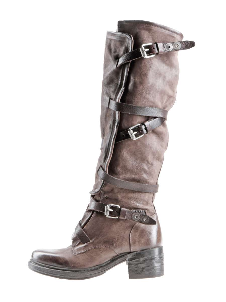 Buckle boots fondente