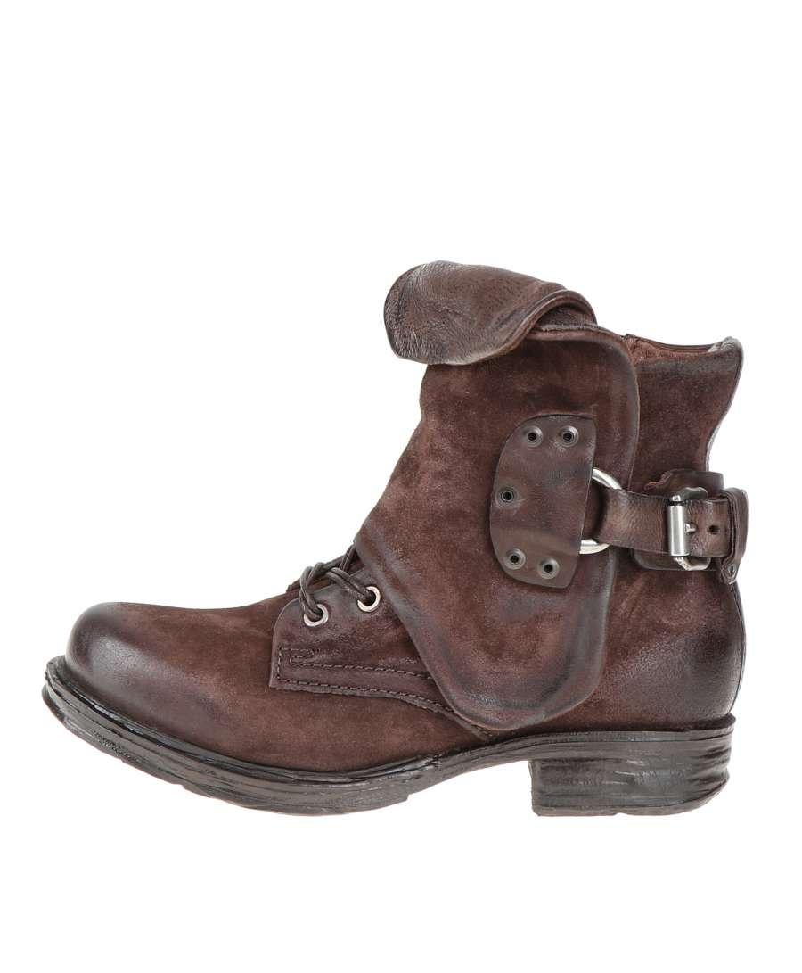 Cuffed boots fondente