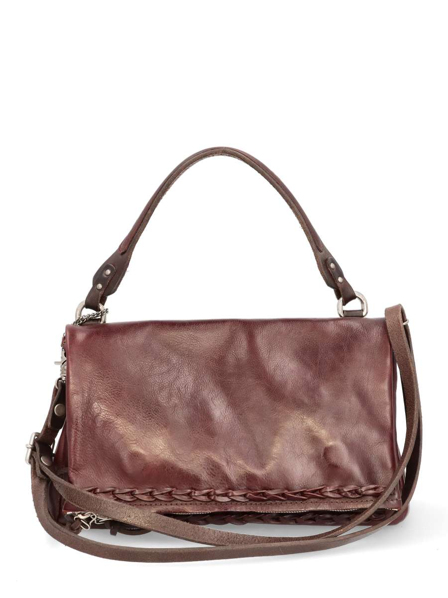 Handbag bordo