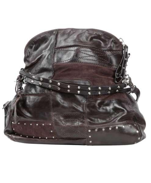 Patchwork bag fondente
