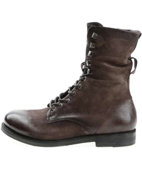 Laced boots fondente