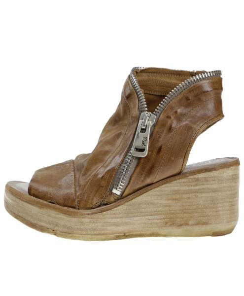 Wedge sandals tiger