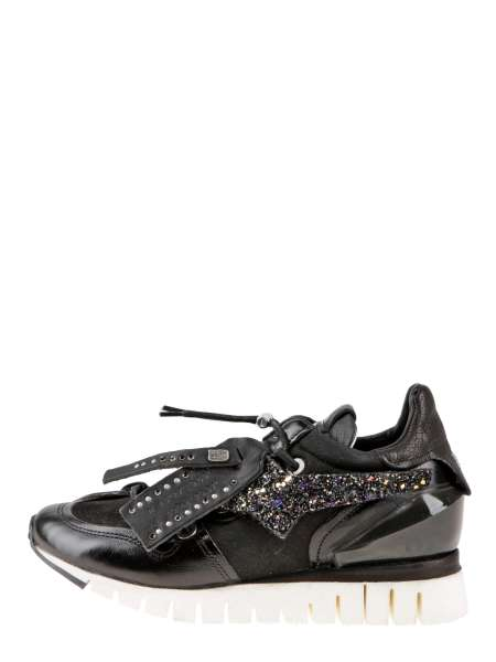 Runner sneakers nero
