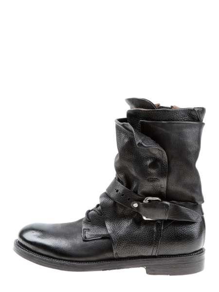 Cuffed boots nero