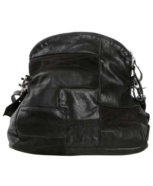 Patchwork bag nero