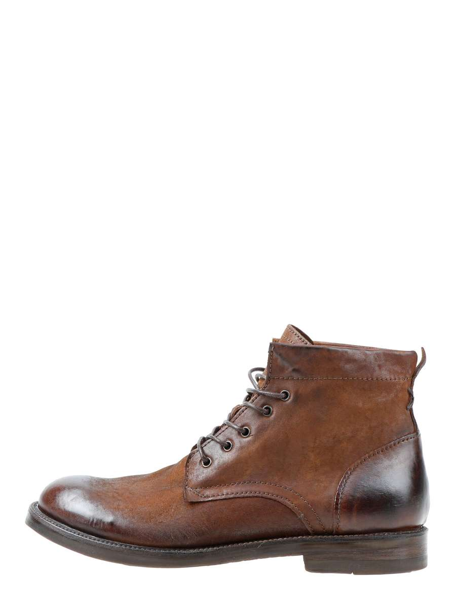 Laced boots castagna