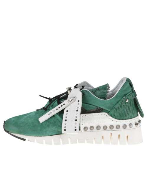 Runner sneaker emerald