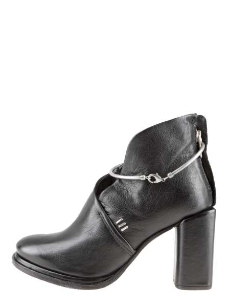 Decollete Ankle Boots nero