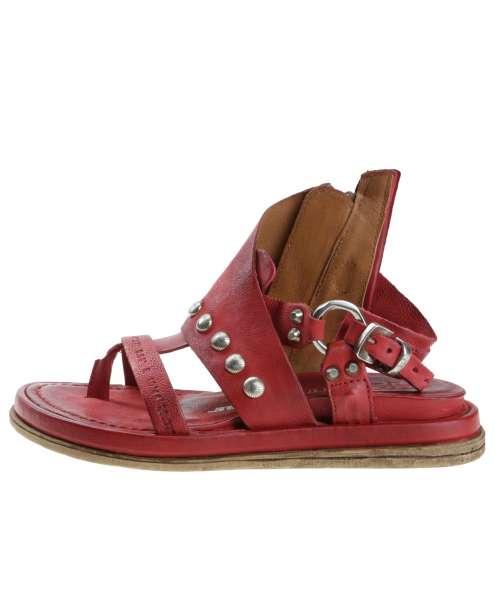 Studded sandals blood