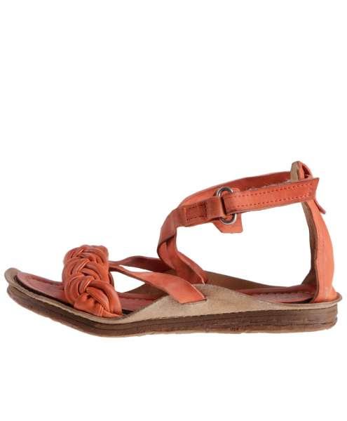 Strappy sandals corallo