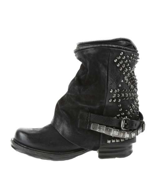 Studded boots bestseller nero