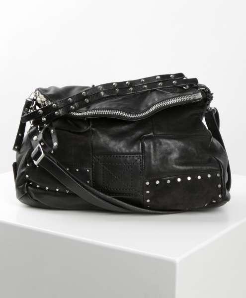 Patchwork Tasche nero
