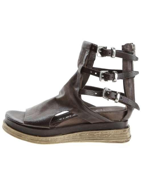 Buckle sandals fondente