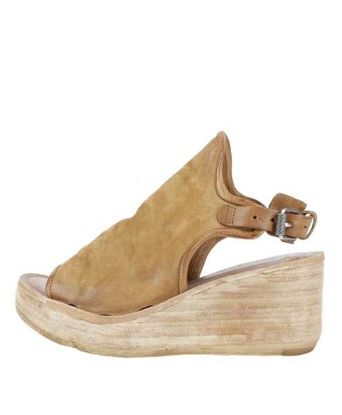 Wedge sandals tiger