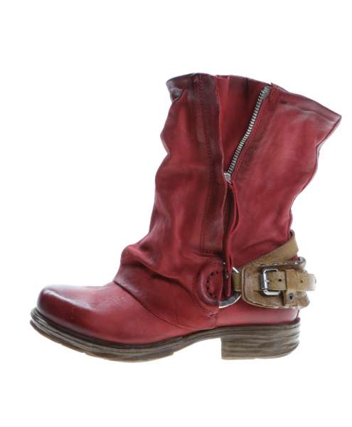 Cuffed boots bestseller blood