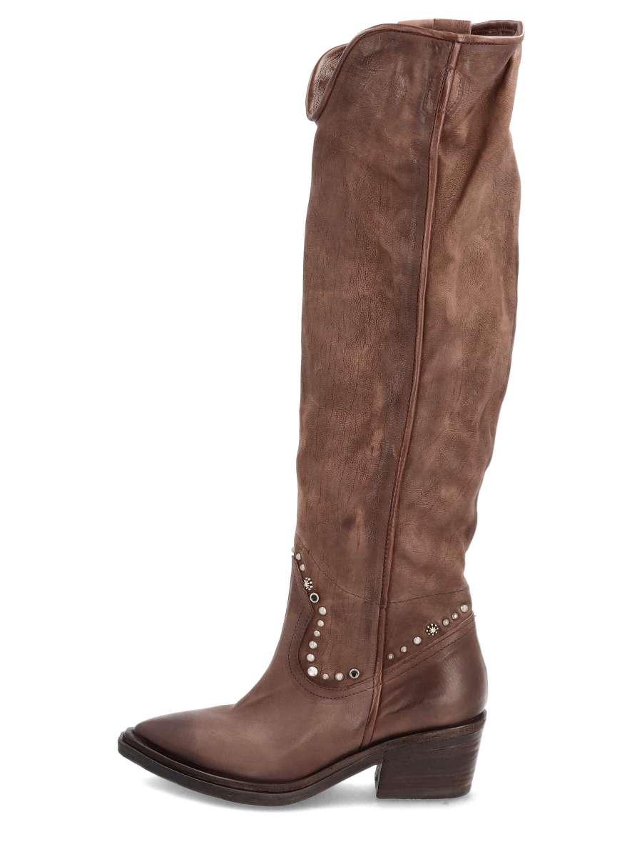 Cowgirl boots fondente