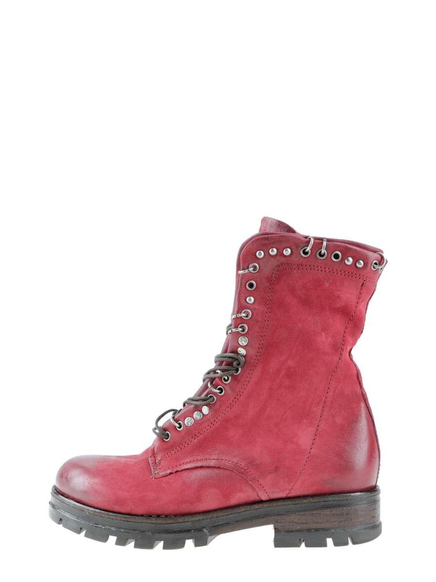 Studded boots cardinal