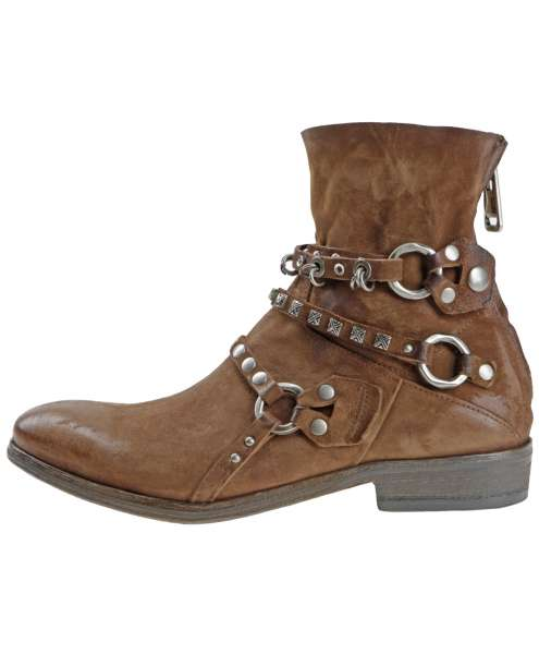 Studded boots calvados