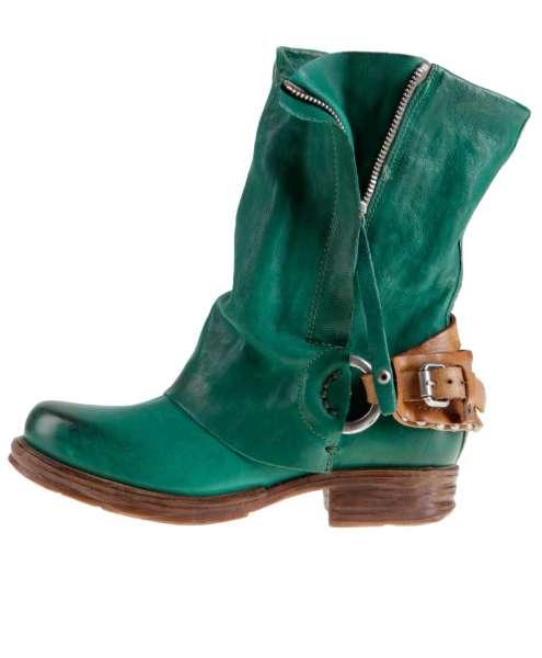 Cuffed boots bestseller emerald