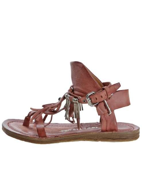 Fringe sandals ginger
