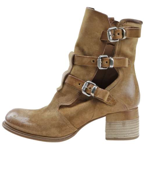 Leather Summer Ankle Boot