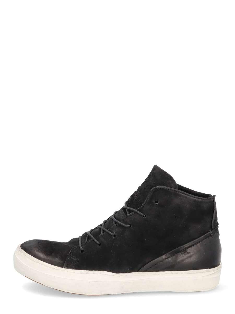 High-top Sneaker schwarz
