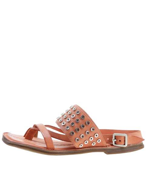 Studded sandals corallo