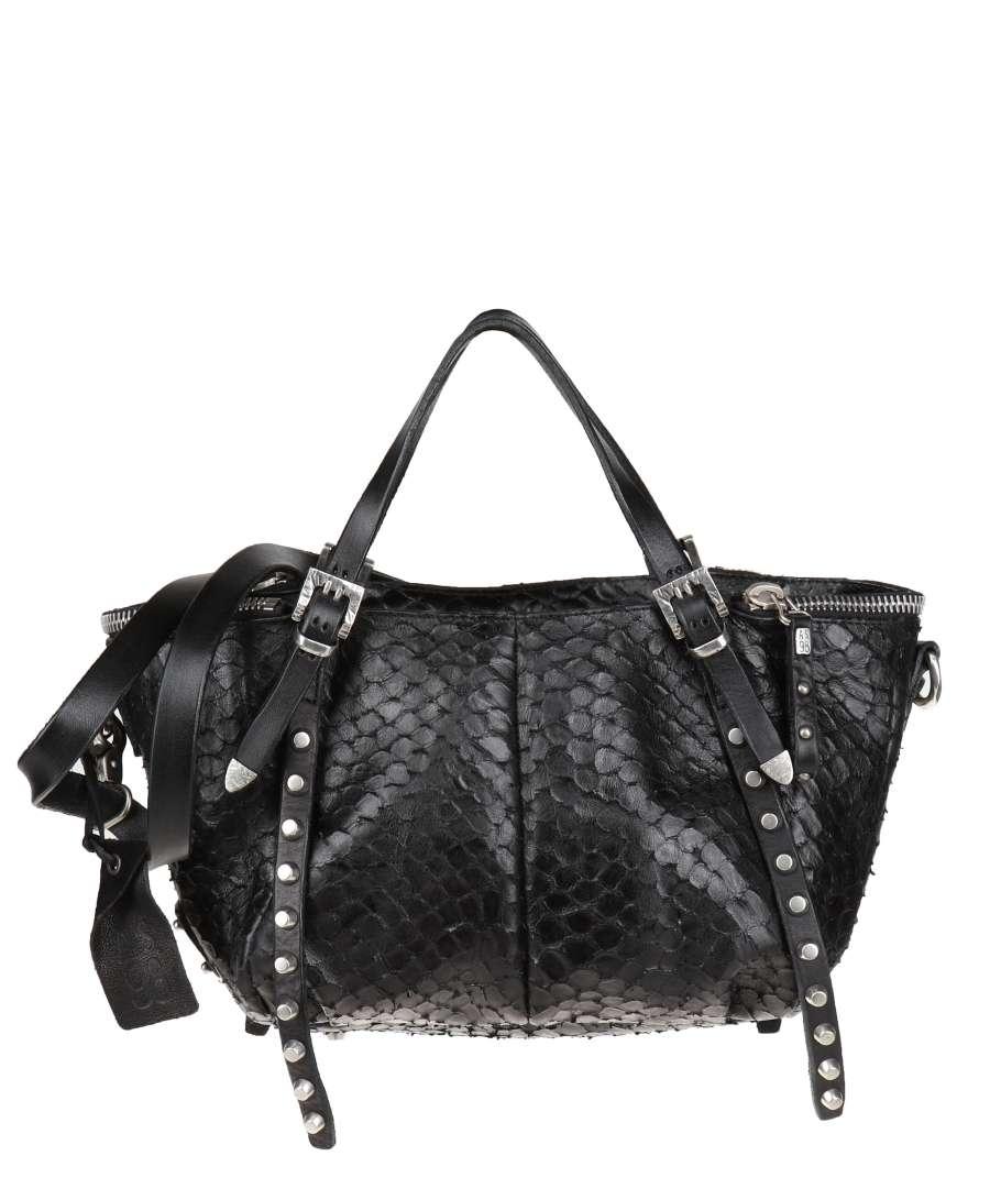 Handbag nero snake