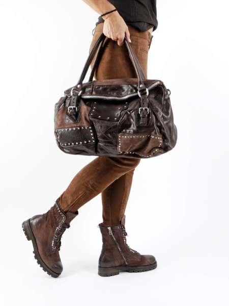 Patchwork Tasche fondente