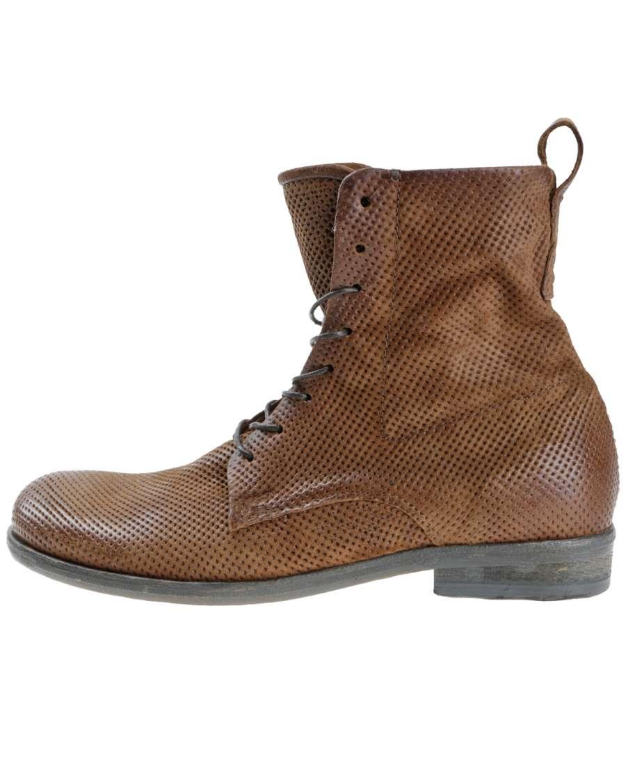 Laced boots calvados
