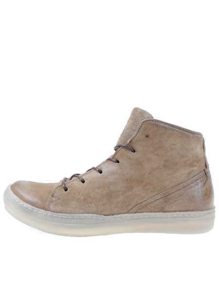 High-top sneakers tabacco