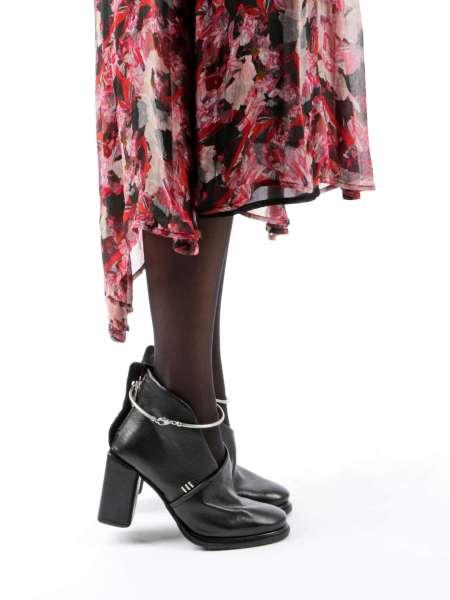 Decollete Ankle Boots nero