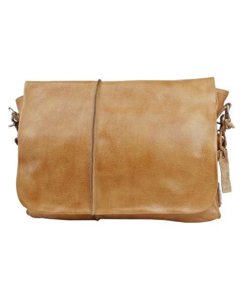 Messenger bag cuoio